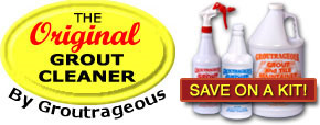 Try Groutrageous - Save on Kits!
