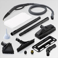 Reliable Enviromate E5 steam cleaner accessories
