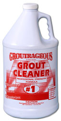 Groutrageous Step 1 Grout Cleaner