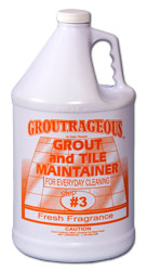 Groutrageous Step 3 Grout and Tile Maintainer