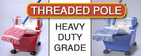 Heavy duty mop bucket